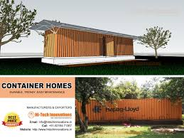 100 Container House Price Home Manufacturers At Best In India Hitech