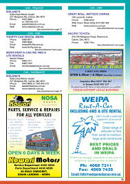 Cape York Community Phone Book & Business Directory By Regional And ... Get A Fabulous Car Wash Freddys 702 9335374 Home Innout Express North Hollywood Ca Detailing Inexterior Ldon Road Services Prices Poconos Auto Service Price Menu Yelp At Jax Kar Truck Semitruck Onsite Oryans Monticello Car Wash Prices Pinterest