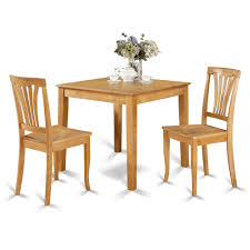 100 Dining Room Chairs With Oak Accents Square Table And 2 3 Piece Set Furniture