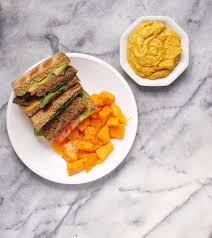 Pumpkin Hummus Recipe Without Tahini by California Veggie Burger With Sweet U0026 Savory Pumpkin Hummus