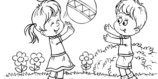 play clipart black and white 1