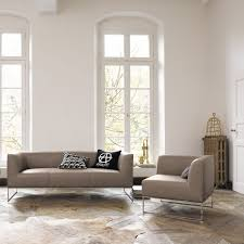 100 Cor Sofas Minimalist Sofa Fabric Brown MELL By Jehs Laub COR