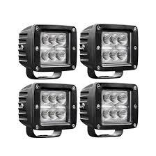 100 Work Lights For Trucks LED Car Lights Pods 4 32W LED 3200 Lumens Off Road Fog