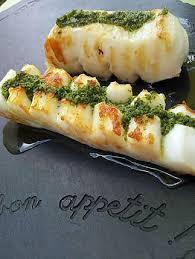 cuisiner seche recette de lamelles de seiche à la plancha au beurre d ail persillé
