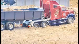 100 Commerical Trucks RC Semi Truck Stuck Firefighter