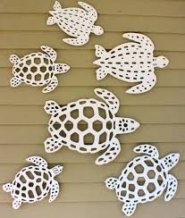 Sea Turtles Wall Decor For Your Porch Made By Island Creek Designs Islandcreekdesigns Turtle