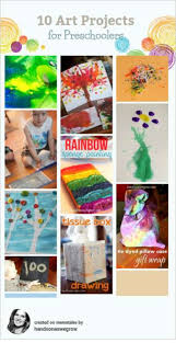 Heres Some Of Our Art Activities That Are Perfect For Preschoolers