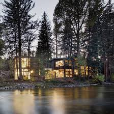 104 River Side House Studio B Adds Two Separate Volumes To Side In Colorado