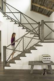 Best 25+ Cable Railing Ideas On Pinterest | Steel Stair Railing ... Best 25 Stair Handrail Ideas On Pinterest Lighting Metal And Wood Modern Railings The Nancy Album Modern 47 Railing Ideas Decoholic Wood Stair Stairs Rustic Black Banister Painted Banisters And John Robinson House Decor Banister Staircase Spider Outdoors Deck Effigy Of Rod Iron For Interior Exterior Decorations Arts Crafts Staircase Design Arts