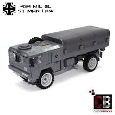 CUSTOMBRICKS.de - LEGO Custom MOC Deutsche Bundeswehr German Army ... Amazoncom Brick Brigade Custom Lego Military Model Vehicle For Lego Wwii Deuce And A Half Cckw Itructions Youtube Wc52 Truck Modern Vehicles Ideas Product Ideas Train Carriages Brickmania Blog Winners Arent Born Theyre Built Page 58 Classic Legocom Us Deluxe Swat Police Made With Real Bricks Heavy Tatra 8x8 Toy Mini Army War Building Block Jeep M35 Halftrack Bricknerd Your Place All Things The