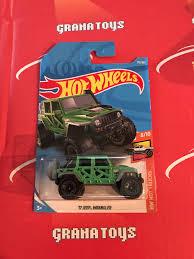 100 Hot Trucks 17 Jeep Wrangler 176 Green 2018 Wheels Case H