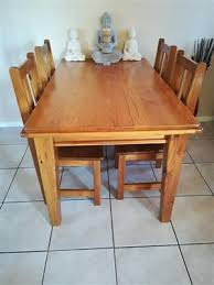 R 1 400 For Sale 4 Seater Pine Table And Chairs