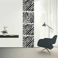 dekoration wandtattoo wandaufkleber banner zebra safari