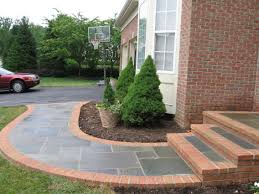 Chic Design Bricks Front Porch Steps Ideases With Red Beauteous