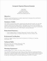 Sample Resume For Computer Science Engineering Students Freshers Fresh Puter Engineer Gallery