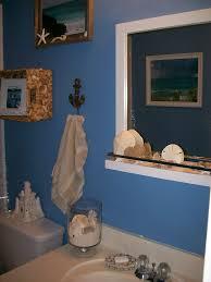 Blue And Brown Bathroom Decor by Vintage Beach Bathroom Decor Light Brown Ceramic Tiled Wall Panel