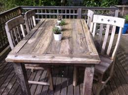 Surprising Design Rustic Outdoor Table Charming Decoration Patio Furniture
