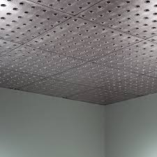 decor fasade 2x2 ceiling tiles suspended dome in crosshatch