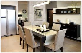 Cozy Dining Room In Fascinating Modern Decor