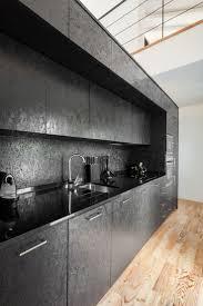 schwarze osb platten für eine küche deko tisch moderne