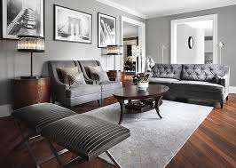 Nolana Charcoal Sofa Set by Gray Living Room Charcoal Tufted Sofa And 2 Armchairs With Curved