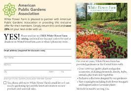 white flower farm american gardens association