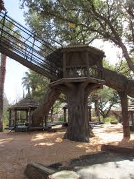 El Paso Pumpkin Patch by El Paso Zoo Playground Tree House 2 Is Connected To Tree House 3