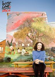 with love letters mural arts visionary jane golden dishes on