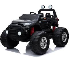 100 Biggest Monster Truck Licensed 24V Ford Ranger Ride On Jeep Black For