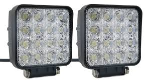 SUCOOL 2pcs One Pack 4 Inch Square 48w Led Work Light Off Road Flood ... 4x 4inch Led Lights Pods Reverse Driving Work Lamp Flood Truck Jeep Lighting Eaging 12 Volt Ebay Dicn 1 Pair 5in 45w Led Floodlights For Offroad China Side Spot Light 5000 Lumen 4d Pod Combo Lights Fog Atv Offroad 3 X 4 Race Beam Kc Hilites 2 Cseries C2 Backup System 519 20 468w Bar Quad Row Offroad Utv Free Shipping 10w Cree Work Light Floodlight 200w Spotlight Outdoor Landscape Sucool 2pcs One Pack Inch Square 48w Led Work Light Off Road Amazoncom Ledkingdomus 4x 27w Pod