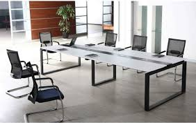 Rectangle Extension Conference fice Table Long Meeting Desk