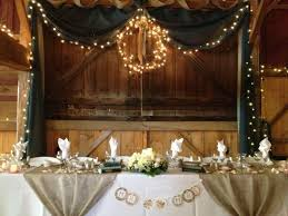 Country Wedding Head Table Decorations Best Ideas About Backdrop On