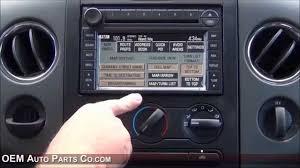 100 Ford Truck Oem Parts 20042008 F150 Factory GPS Navigation Radio Upgrade Easy Plug