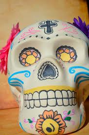 Easy Sugar Skull Day Of by Day Of The Dead Sugar Skull Ceramic Art Decor