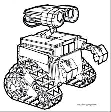 Robots Movie Coloring Pages Cute Robot To Print Magnificent Wall Printable