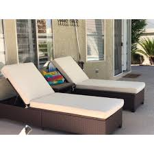 Shop 3 PC Outdoor Rattan Chaise Lounge Chair Patio PE Wicker Rattan ... China Outdoor Pe Rattan Fniture Chaise Lounge Chair With Ottoman Wicker Adjustable Pool Patio Convience Boiqueoutdoor Giantex 4 Position Porch Recliner Brown Couch Set Of 2 Allweather Folding Chairs W Hanover Gramercy And Table Berkeley Best Office Round And Thrghout Rattan Chaise Lounge Bimsissaorg