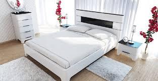 feldmann wohnen schlafzimmer set verona set 4 tlg 1 kommode 1 bett 2 nachtkonsolen liegefläche 160 x 200 cm kaufen otto