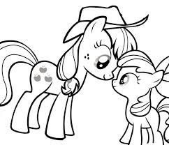 My Little Pony Printable Coloring