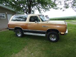 1985 4WD Dodge Ramcharger For Sale In Springfield IL