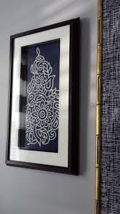 Current Diy Framed Fabric Wall Art With Focal Point Styling Indigo