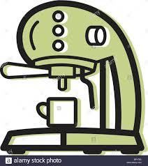 Illustration Of An Espresso Machine