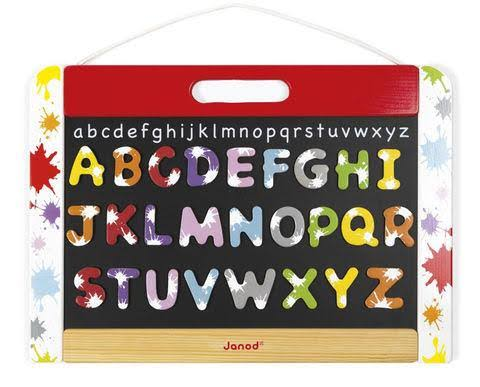 Janod Magnetic Chalk and Dry Erase Board