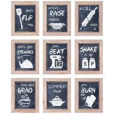 Modern Industrial Farmhouse Wall Art Kitchen Chalkboard Style Rharchitecturedsgncom Where To Buy