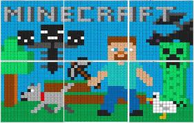 Minecraft Division Mural