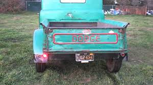 1951 Dodge Pickup - YouTube 1951 Dodge Pickup For Sale Classiccarscom Cc1171992 Truck Indoor Car Covers Formfit Weathertech Original Fargo Styleside With Original Wood Diesel Jobrated Tractor B3 Data Book 34 Ton For Autabuycom 1952 Flathead Six Four Speed Youtube 5 Window Pilothouse Perfect Ratstreet Rod Project Mel Wades M37 Power Wagon Drivgline