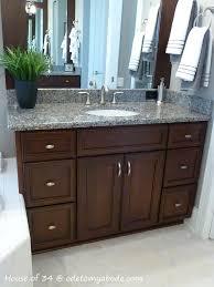 Bathroom Vanity Decorating Ideas Pinterest by Bathroom Small Bathroom Decorating Ideas With Wood Cabinet Vanity