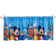 Mickey Mouse Bedroom Ideas by Disney Mickey Mouse Window Valance Walmart Com