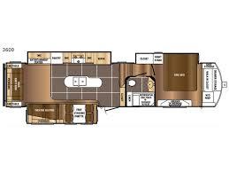 Wildwood Fifth Wheel Floor Plans Colors Sanibel Fifth Wheel General Rv Center