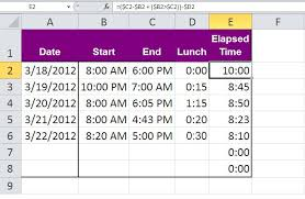 Ceiling Function Excel Example by Three Tips For Rounding Excel Time Values Techrepublic