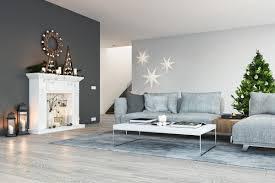 wohnzimmer idee moderne einrichtung mit weihnachtsdeko